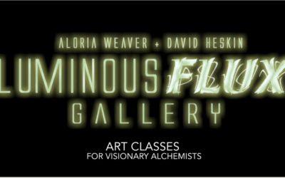 Visionary Alchemy Art  A.Weaver & D.Heskin