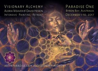 Visionary Alchemy  A. Weaver & D. Heskin