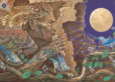Luis Tamani Art Work